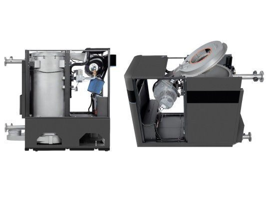 SVF - Unobstructed Access to the Inside Components